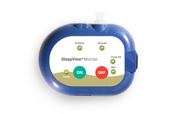 SleepView home sleep apnea test device